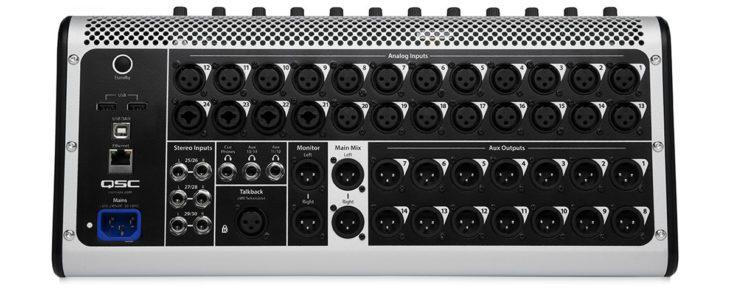 qsc touch mix 30 pro