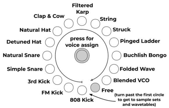 Quad Drum Voice vpme Amazonatest Herstellerbild Manual Digital Modelling Drum Voices