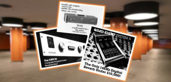 Zeitmaschine: Quad Eight Electronics Reverbs, Effektgerät