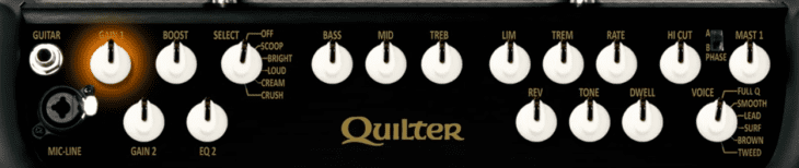 Quilter Mach2 Combo 12HD Panel