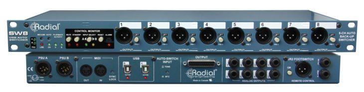 radial engineering kl8 sw8-usb