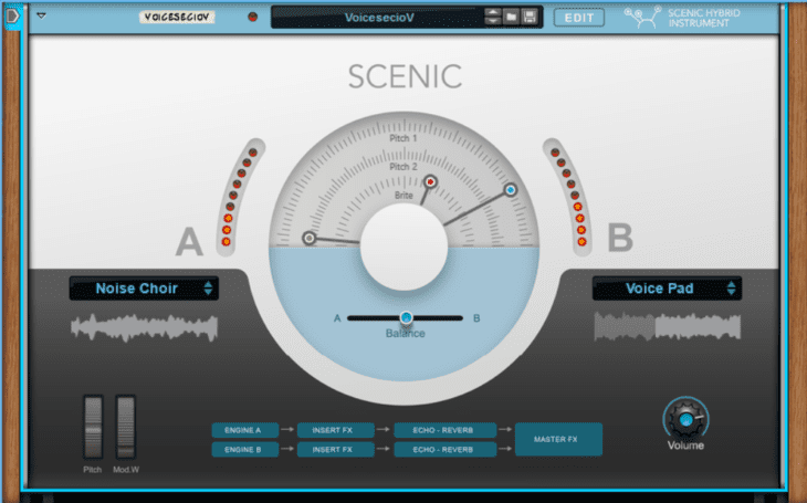 Reason Studios Reason 11 - Scenic Hybrid Instrument