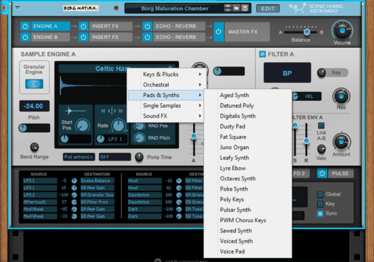 Reason Studios Reason 11 - Scenic Engine Waveforms