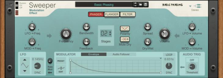Reason Studios Reason 11 - Sweeper Modulation Effect