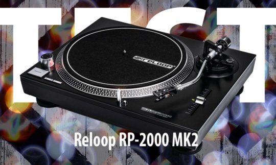Test: Reloop RP-2000 MK2, DJ-Plattenspieler