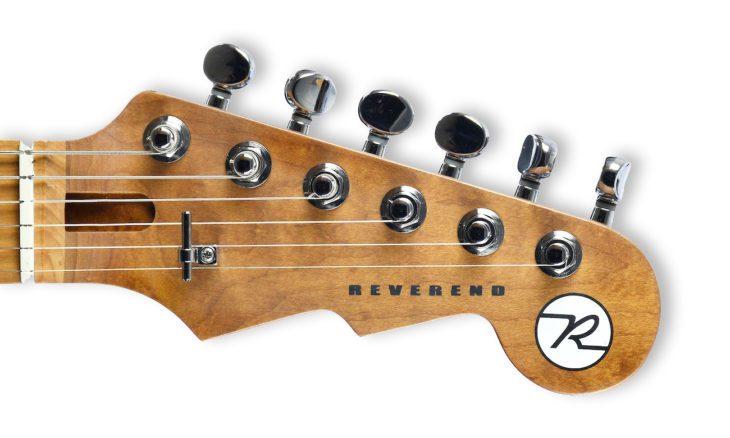 Reverend Guitars Flatrock E-Gitarre Kopfplatte