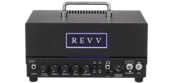 Test: Revv D20 Amp Head, Verstärker