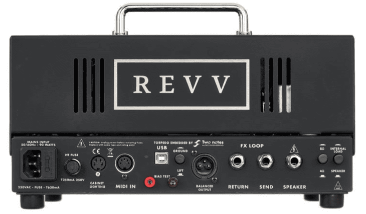 Revv D20 Rücken