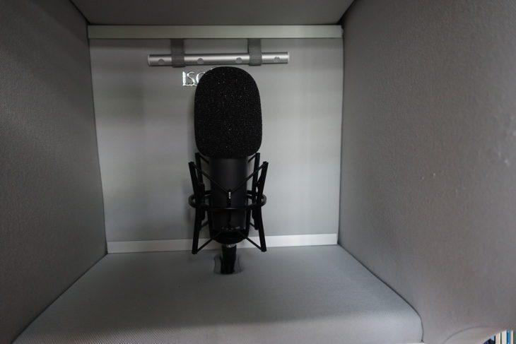 RODE NT1000 Black in ISOVOX V2