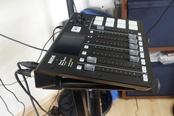 RODECaster Pro Seite