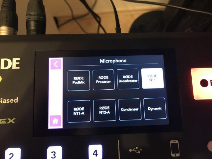 RODECaster Pro Voice-Einstellungen