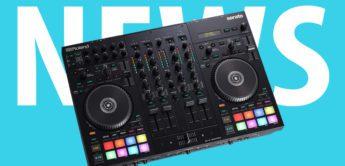 Roland DJ-707M – neuer Serato DJ Controller von Roland