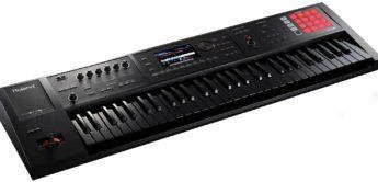 News: Roland FA-06B & Juno-DS61B – Workstations als Black Edition