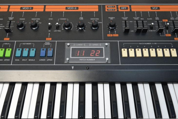 Großartiger Synthesizer: Der Jupiter 8. Becker bevorzugt freilich den MKS-80.