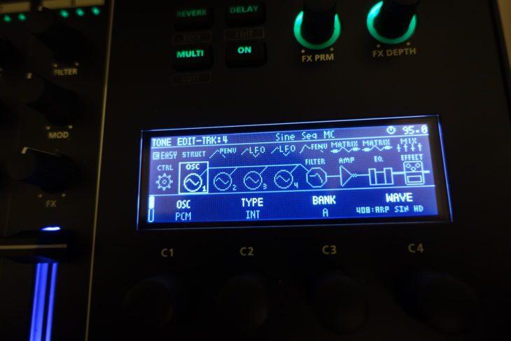 Roland MC-707 Sound-Programmierung