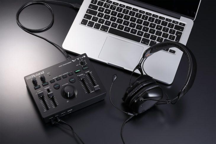 Der VT-4 ist auch als Audio-Interface einsetzbar