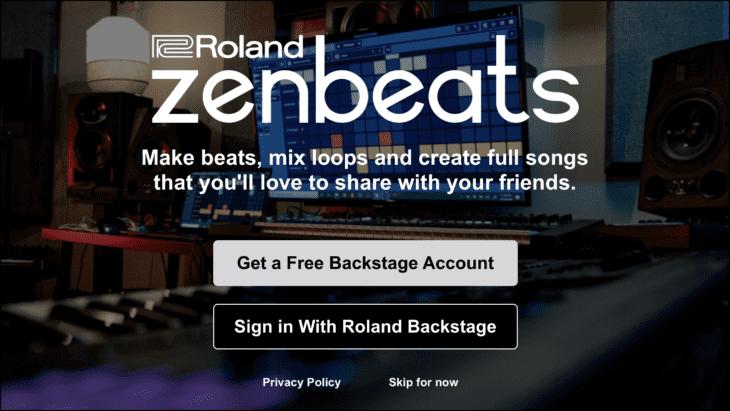 Roland Zenbeats-App