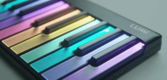 Roli Lumi – neues modulares, beleuchtetes Controllerkeyboard