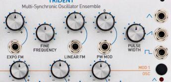 Test: ROSSUM Electro Music TRIDENT, Eurorack Oszillator
