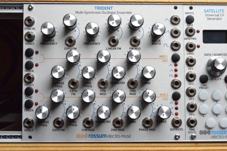 Rossum Electro Music Trident - vollansicht