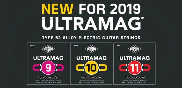 Rotosound präsentiert Ultramag Gitarrensaiten