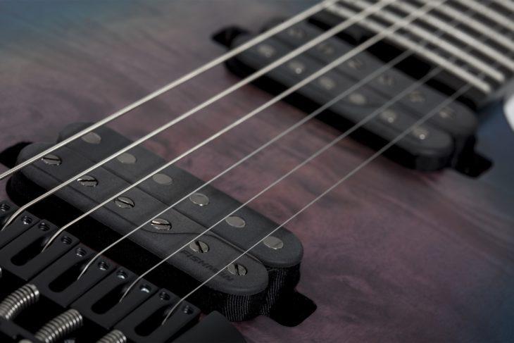 Schecter KM-6 MkIII Artist E-Gitarre Fishman Pickups