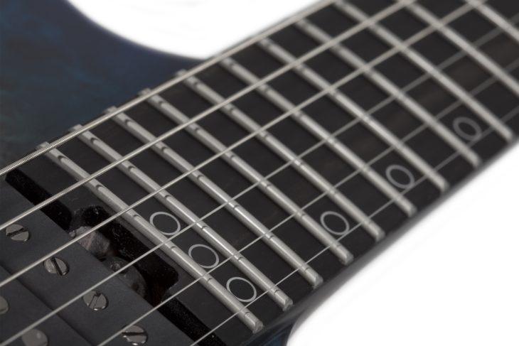 Schecter KM-6 MkIII Artist E-Gitarre Griffbrett