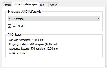 Screenshot GO XLR Panel