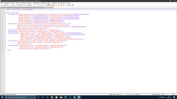 Screenshot GO XLR Preset