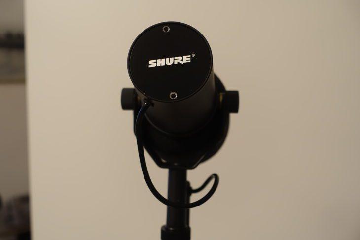 Shure SM7B mit Abdeckung
