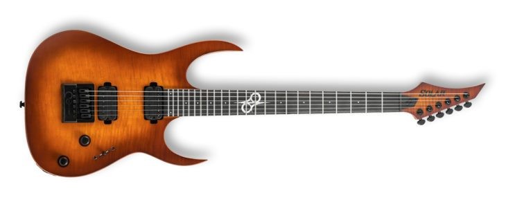 Solar Guitars S1.6ETFSBM LTD