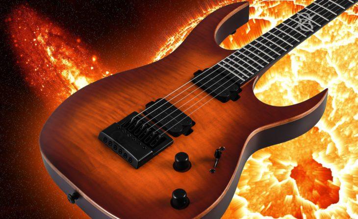 Solar Guitars S1.6ETFSBM LTD E-Gitarre