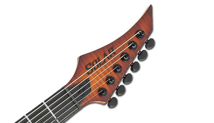 Solar Guitars S1.6ETFSBM LTD_Headstock