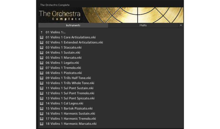 Sonuscore Orchestra Complete