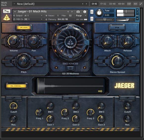 Sound Design - Audio Imperia - Jaeger