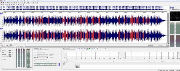 Mit Hilfe der VAD werden Vocals herausgesucht