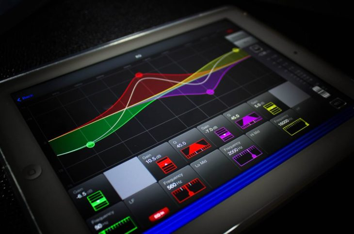 Soundcraft vi-iPad