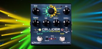 Test: Source Audio Collider, Delay Reverb Pedal