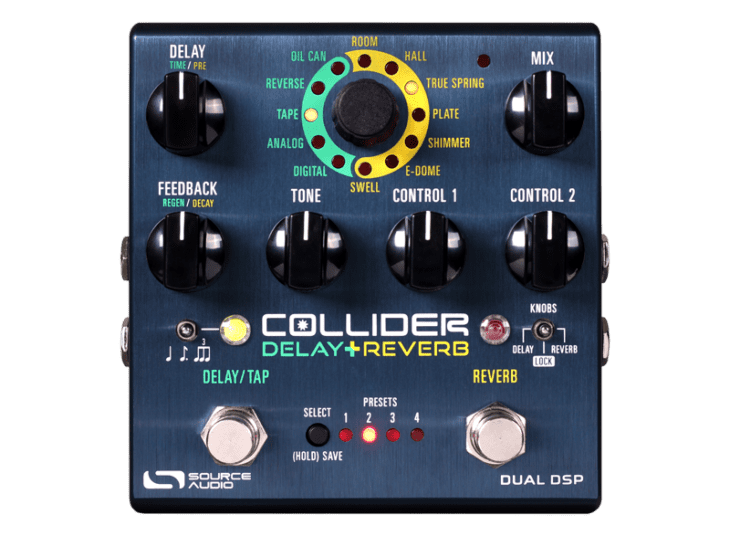 Source Audio Collider Delay Reverb