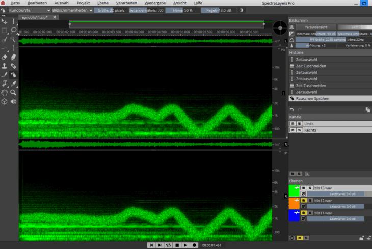 SpectralLayers Pro 6 - Spruehen