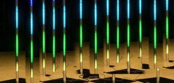 Test: Stairville LED Pixel Rail 40 MKII plus Drive 640 MKII, Lichteffekt