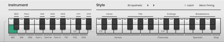 MIDI On-Screen Keyboard Beatmaker