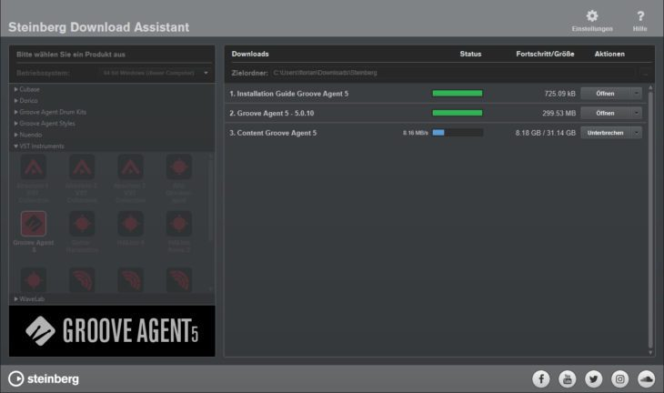 Steinberg Groove Agent 5 - Download
