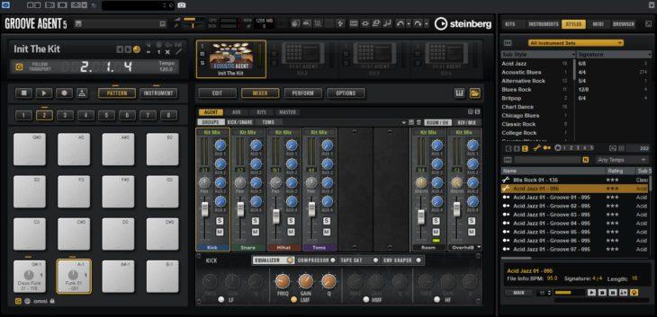 Steinberg Groove Agent 5 - Der Mixer