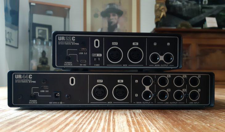 Steinberg UR22C und UR44C