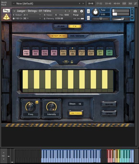 Step Mod - Audio Imperia - Jaeger