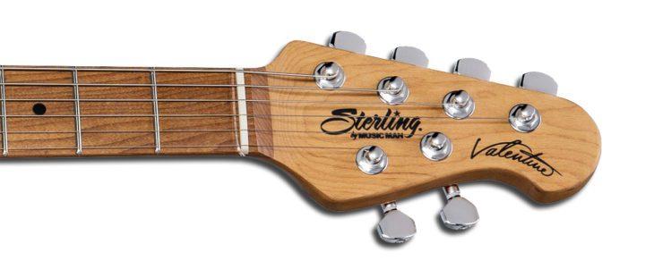 Sterling by Music Man Valentine JV60T Headstock