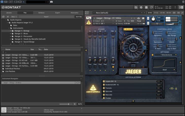 Strings - Audio Imperia - Jaeger