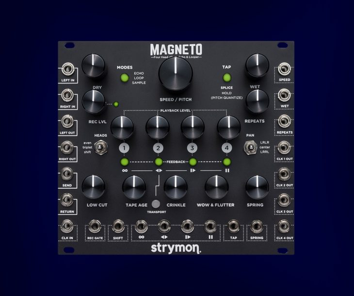 Test: Strymon Magneto, Eurorack Tape Delay