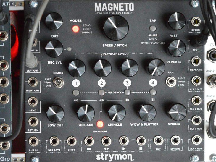 Strymon Magneto im Loop-Modus